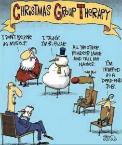 Gruppo terapia natalizio